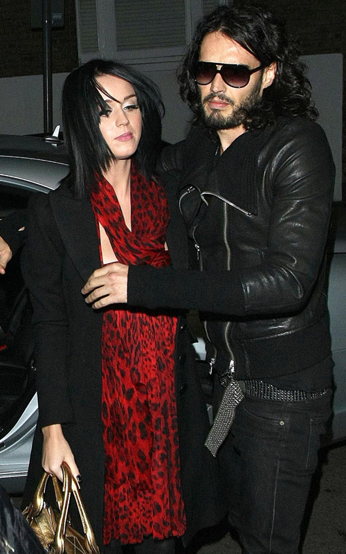 Katy Perry & Russell Brand.  Photo: Fame Pictures.com