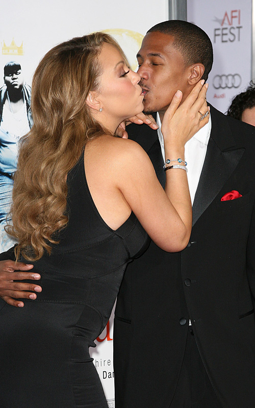 Mariah Carey & Nick Cannon.  Photo: GettyImages.com