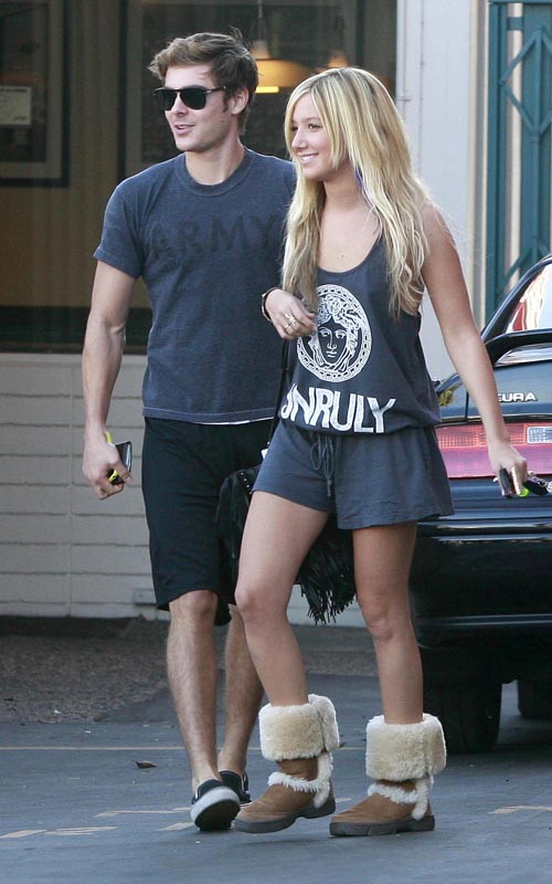 Zac Efron And Ashley Tisdale. Photo: Flynetonline.com