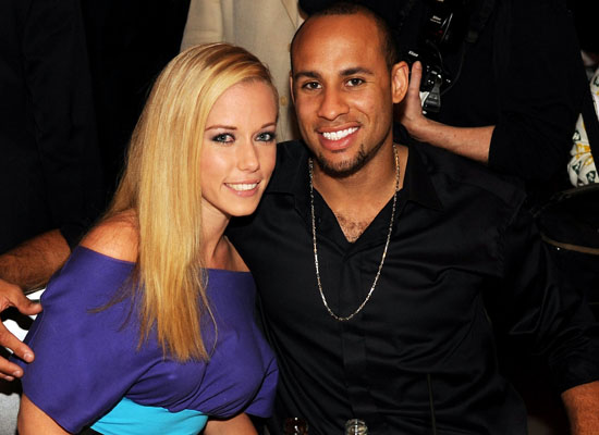 Kendra Wilkinson & Hank Baskett.  Photo: WireImage.com