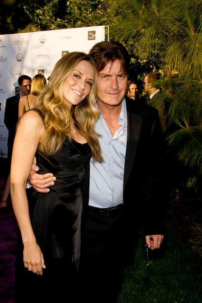 Charlie Sheen & Brooke Mueller.  File Photo