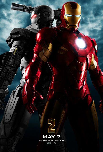 Iron Man 2 Movie Poster.  Photo: Marvel Studios.