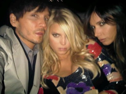 Jessica Simpson, Ken Paves, Mary Phillips. Photo: Jessica Simpson