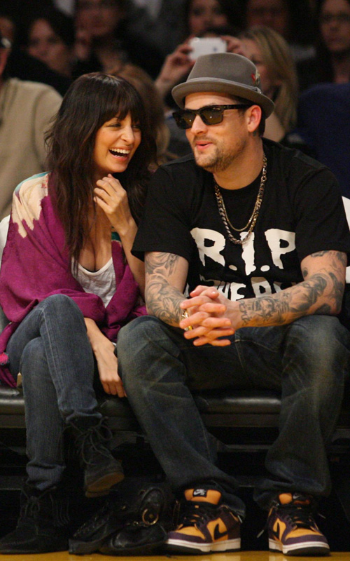Nicole Ritchie & Joel Madden.  Photo: SplashNewsOnline.com