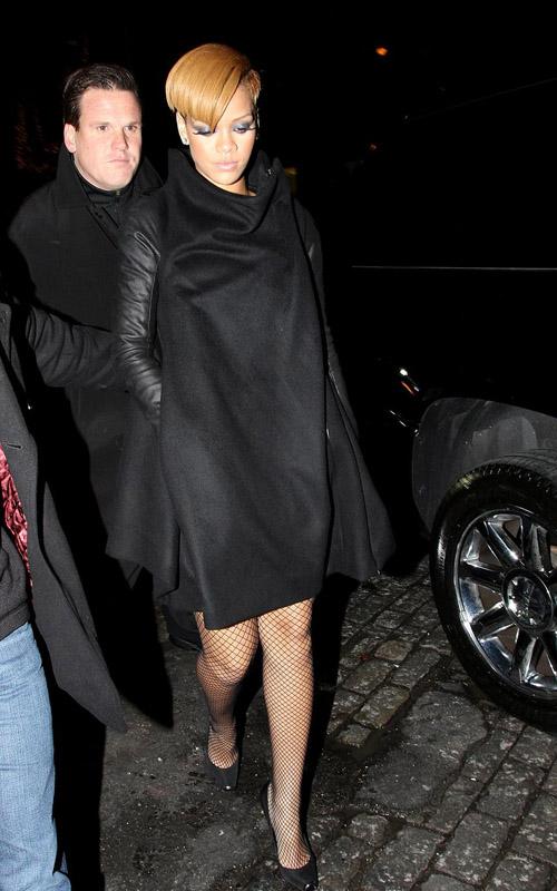 Rihanna Leaving SNL Afterparty.  Photo: PacifciCoastNewsOnline.com