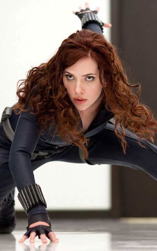 Scarlett Johansson As Black Widow In Iron Man II