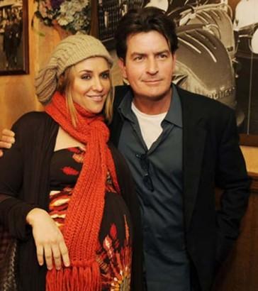 Brooke Mueller and Charlie Sheen