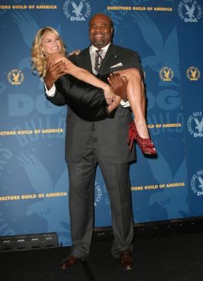 Chi McBride & Kristin Chenoweth.  File Photo