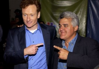 Conan & Jay.  Will Both Stay?  File Photo