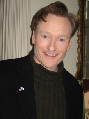 Conan O'Brien.  File Photo