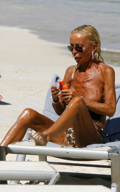 Donatella Versace Naked