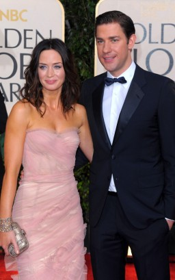Emily Blunt &amp; John Krasinski.  Photo: GettyImages.com