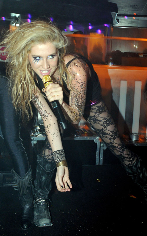 Ke$ha In Paris, France