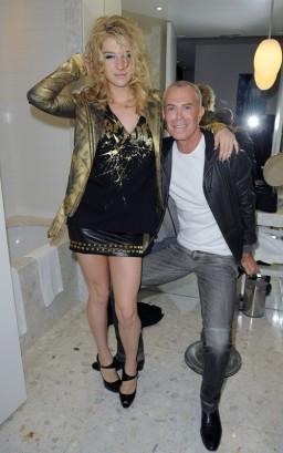 Ke$ha & Jean-Claude Jitrois.  Photo: FamePictures.com
