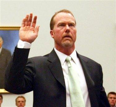 Mark McGwire testifies to Congress in March, 2005 | AP Photo/Gerald Herbert
