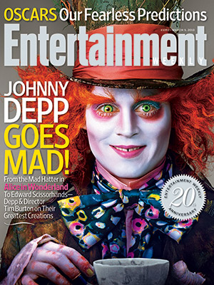 Johnny Depp. Photo: Entertainment Weekly