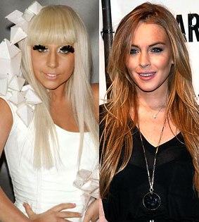Lady Gaga & Lindsay Lohan