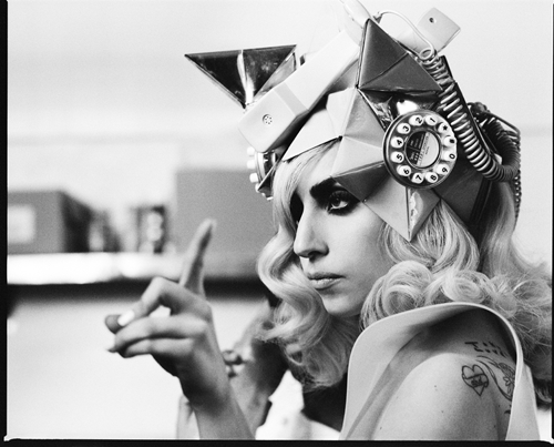 Lady Gaga Telephone Video Shoot
