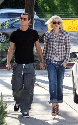 Gwen Stefani & Gavin Rossdale.