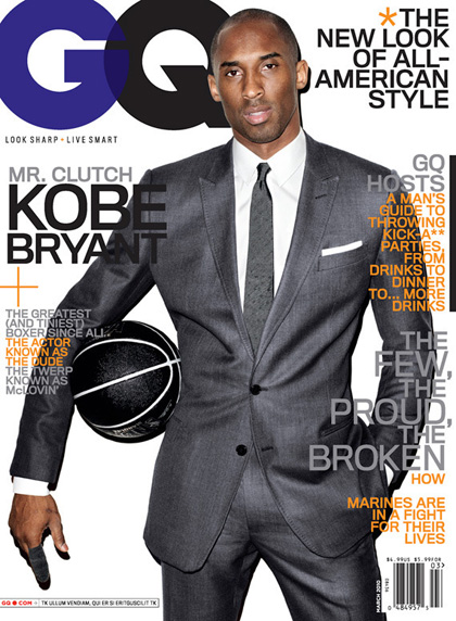 Kobe Bryant. Photo: GQ Magazine