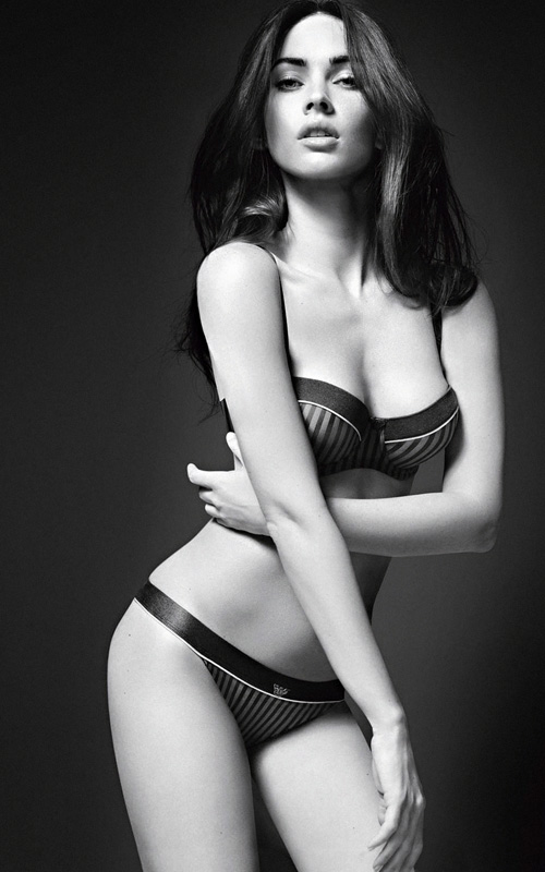 Megan Fox. Photo: Emporio Armani Underwear