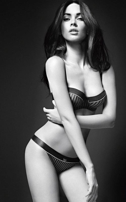 Megan Fox. Photo: Emporio Armani Underwear