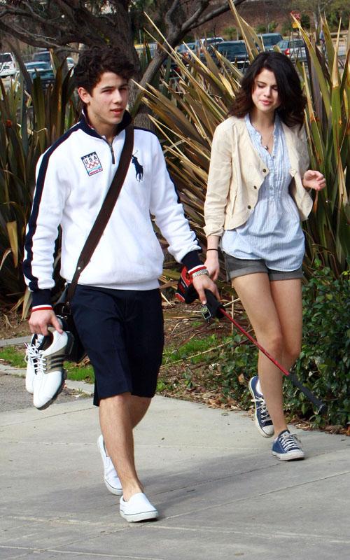 Nick Jonas & Selena Gomez. LimelightPics.com