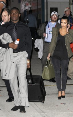 Reggie Bush & Kim Kardashian.  Photo: INFDaily.com