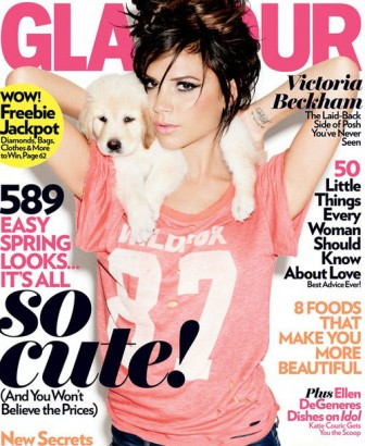 Victoria Beckham Glamour Cover. Photo: Glamourmagazine.com