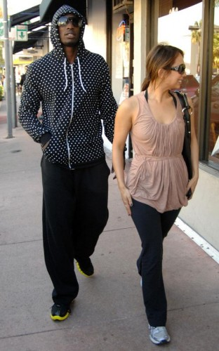 Ochocinco & Cheryl Burke.  Photo: SplashNewsOnline.com