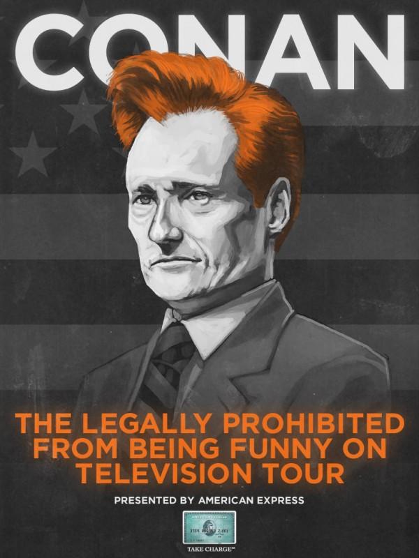 Conan O'Brien on tour