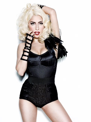 Lady Gaga Cosmo. Photo: Kenneth Willardt