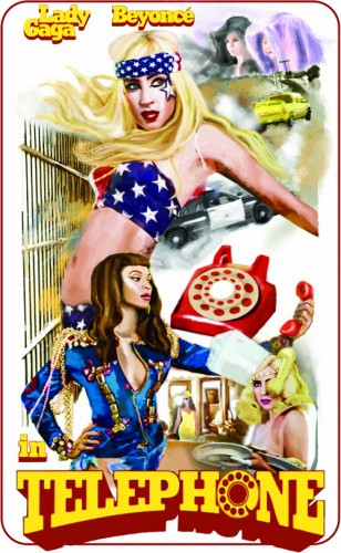 Gaga Official Telephone Poster