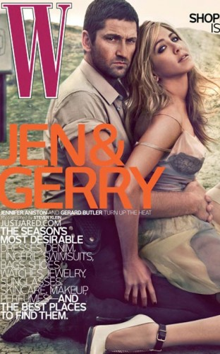 Gerard Butler & Jennifer Aniston.