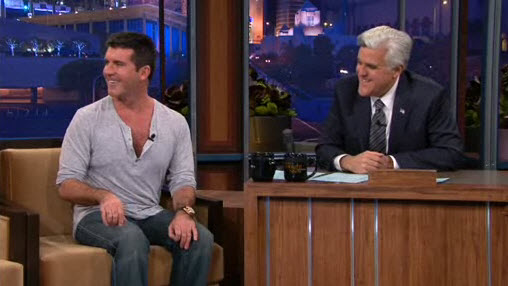 Jay Leno and Simon Cowell