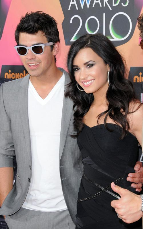 Joe Jonas & Demi Lovato. Photo: GettyImages.com