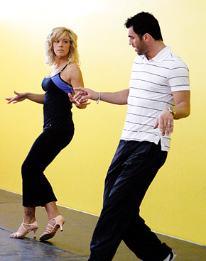 Kate Gosselin & Dovolani. Photo: ABC/Rick Rowell