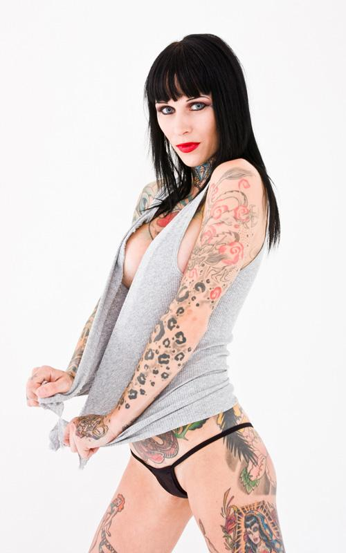 Before she posed for the cover of Tattoo Revue Magazine, she told people at