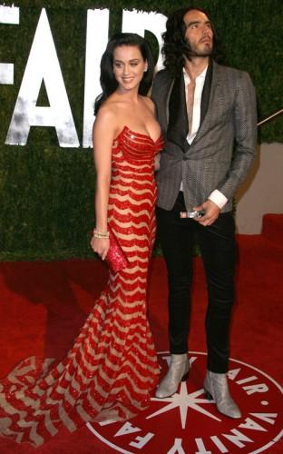 Katy Perry & Russell Brand.  Photo:  SplashNewsOnline.com