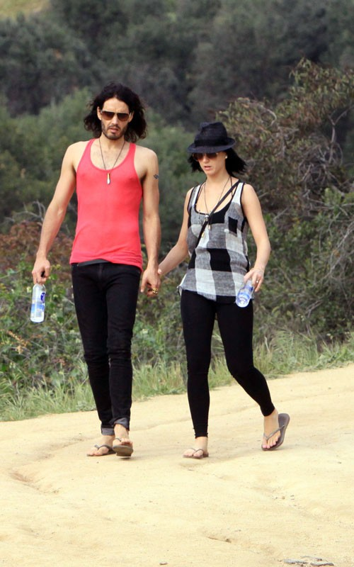 Russell Brand & Katy Perry. Photo: Limelightpics.com