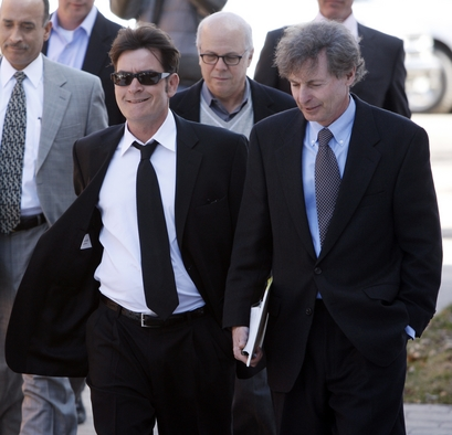Charlie Sheen (AP Photo/David Zalubowski)