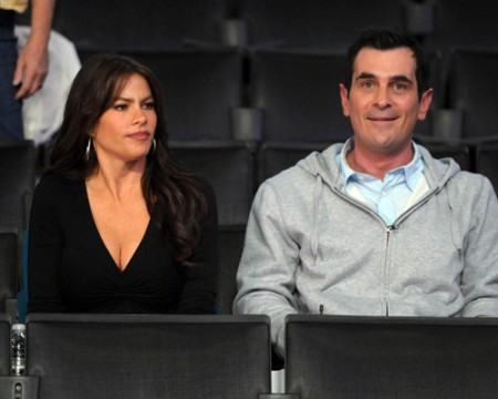 Sofia Vergara & Ty Burrell. Photo: SplashNewsOnline.com