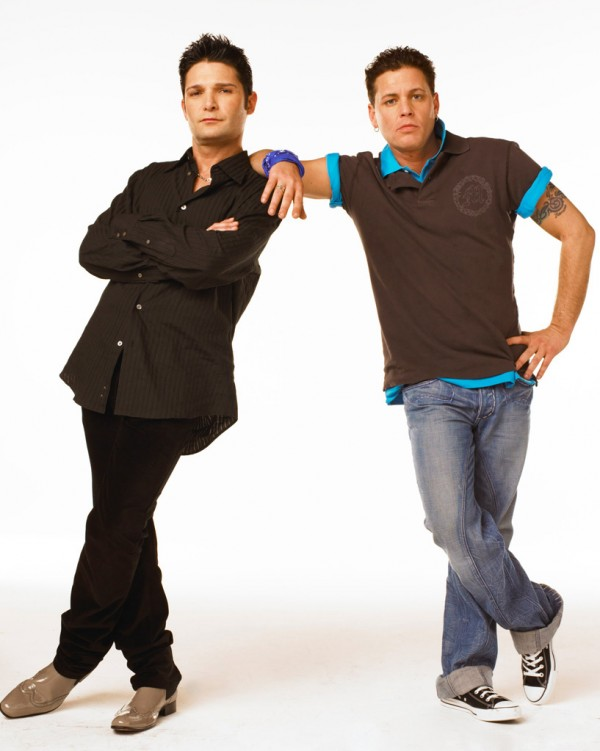 Corey Feldman and Corey Haim