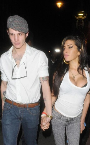 Amy Winehouse & Blake Fielder Civil. Photo: INFDaily.com