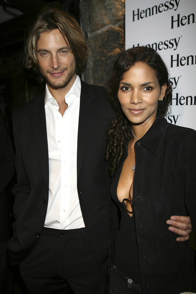 Gabriel Aubry & Halle Berry. Photo: AP