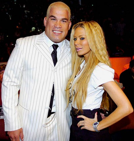 Tito Ortiz &amp; Jenna Jameson. Photo: SI.com
