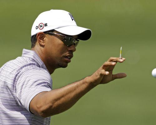 Tiger Woods. Photo: AP