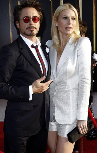 Robert Downey Jr. &amp; Gweneth Paltrow. Photo: Matt Sales. AP.com