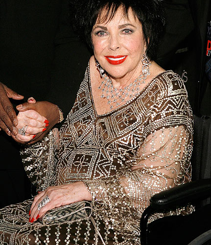 Elizabeth Taylor. Photo: VirginMedia.com
