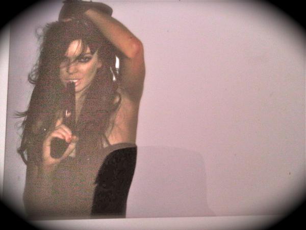 Lindsay Lohan. Photo: Twitpic.com